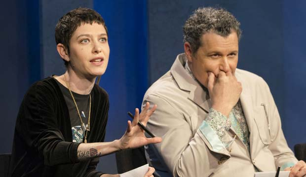 Asia Kate Dillon on Project Runway All Stars