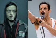 Rami Malek in Mr Robot and Bohemian Rhapsody