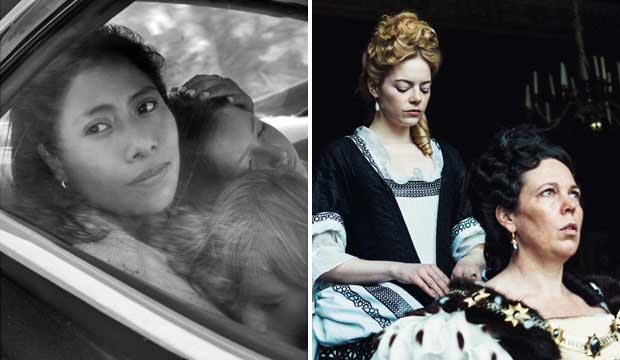 Roma and The Favourite