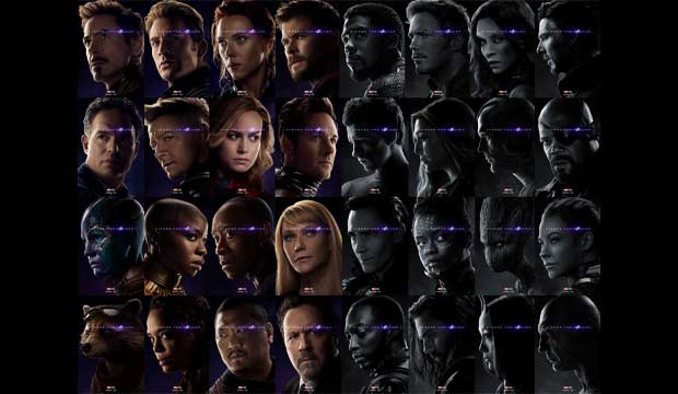 Avengers Endgame 32 Character Posters Special Photo Gallery