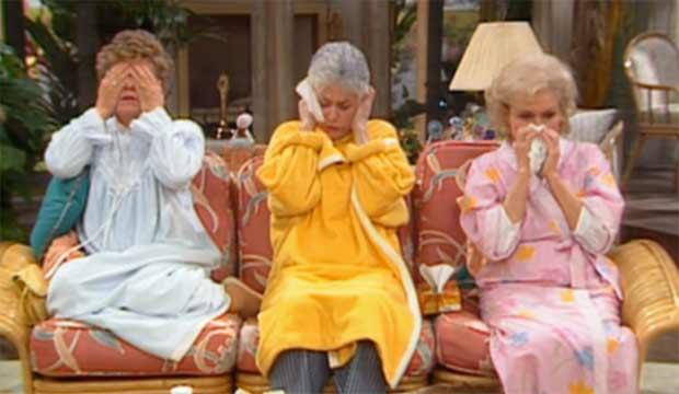 The-Golden-Girls-Episodes-the-flu