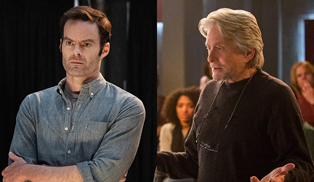 Bill Hader, Barry; Michael Douglas, The Kominsky Method