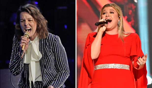 Brandi Carlile and Kelly Clarkson