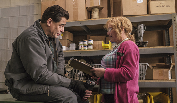 Benicio del Toro and Patricia Arquette, Escape at Dannemora