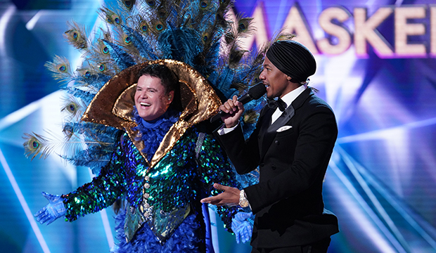 Donny Osmond and Nick Cannon, The Masked Singer