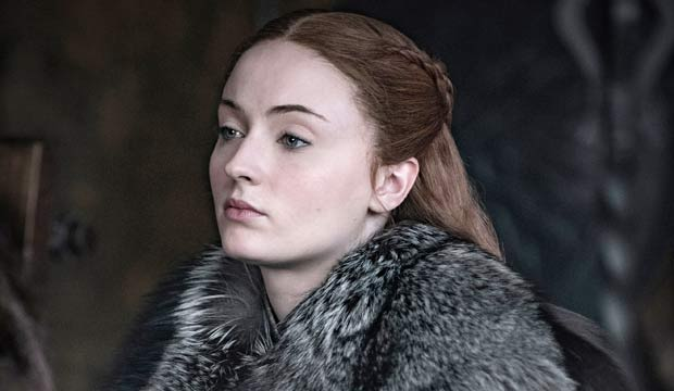 Sophie Turner Game Of Thrones Belly Button