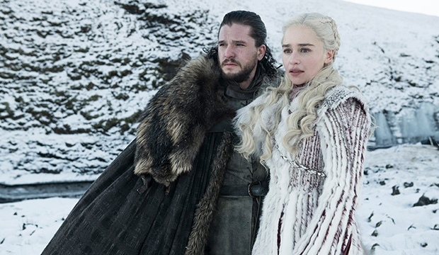 Kit Harington and Emilia Clarke, Game of Thrones