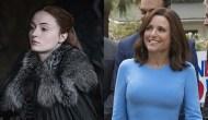 Sophie Turner, Game of Thrones; Julia Louis-Dreyfus, Veep