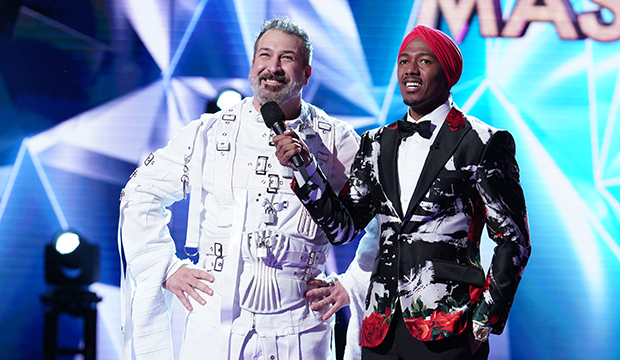 Joey Fatone and Nick Cannon, The Masked Singer