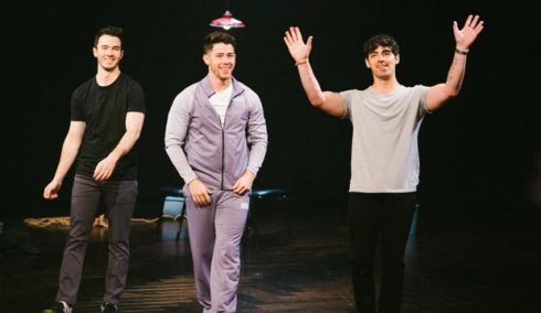 The Jonas Brothers on The Late Late Show