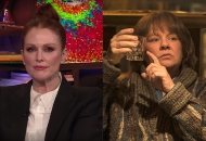 Julianne Moore, Watch What Happens Live; Melissa McCarthy, Can You Ever Forgive Me?
