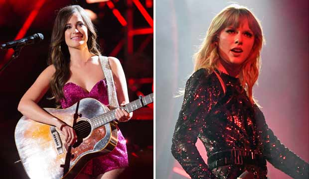 Kacey Musgraves and Taylor Swift