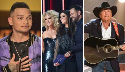 Kane Brown, Little Big Town and George Strait