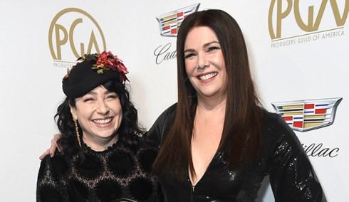 Amy Sherman-Palladino and Lauren Graham