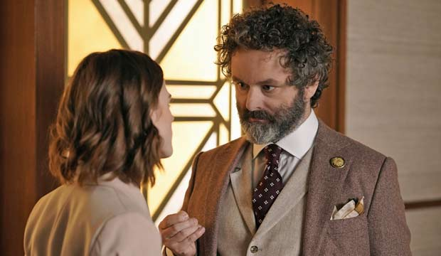 Film werewolf and vampire Michael Sheen could be Emmy-bound for his scary lawyer on 'The Good Fight'