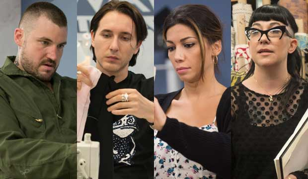 Project Runway All Stars final four