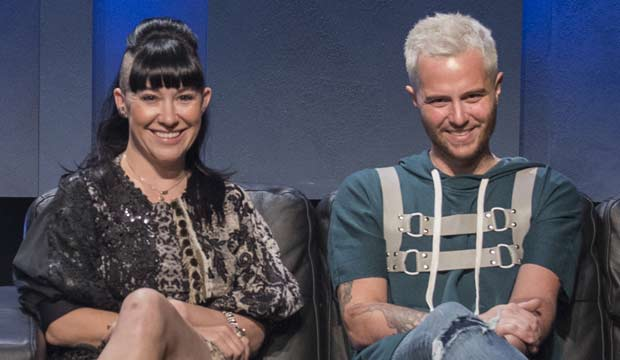 Michelle Lesniak and Anthony Ryan Auld on Project Runway All Stars