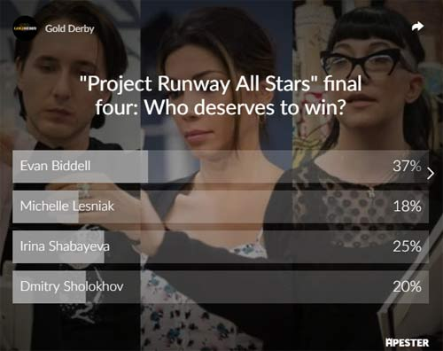 project runway all stars poll results