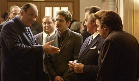 James Gandolfini, Michael Imperioli, Tony Sirico and Steve Van Zandt, The Sopranos