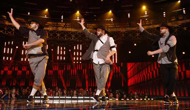 Tobias and the EZTwins on World of Dance