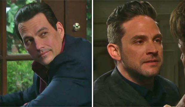 Tyler Christopher and Brandon Barash as Stefan on Days of Our Lives