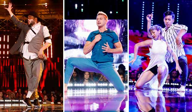 Tobias and the EZTwins, Derek Piquette and DD Flection on World of Dance