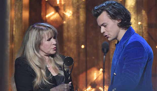 Rock and Roll Hall of Fame Stevie Nicks Harry Styles