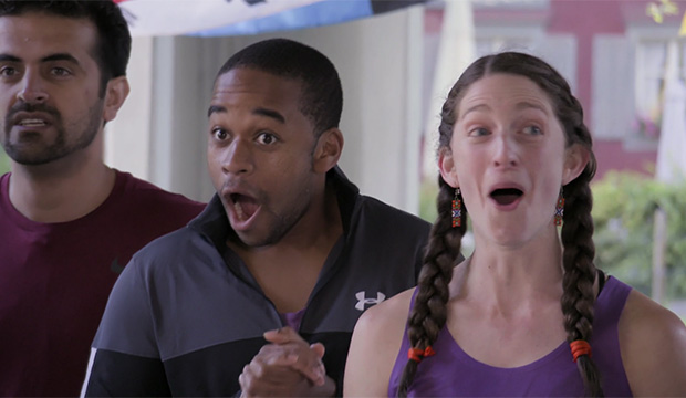 Jamal Zadran, Floyd Pierce and Becca Droz, The Amazing Race 31