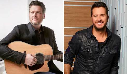 Blake Shelton and Luke Bryan
