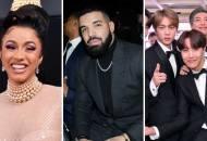 Cardi B, Drake and BTS