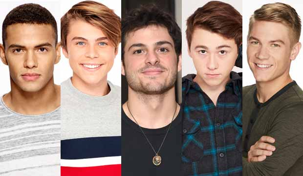 Daytime Emmy nominees for Best Younger Actor