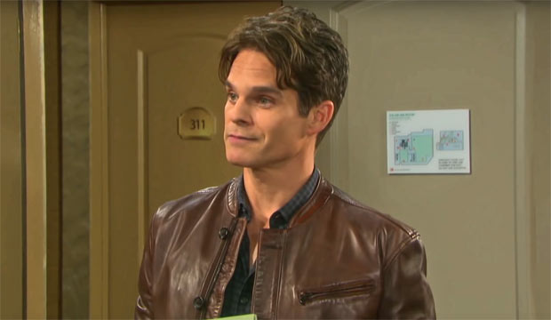Greg Rikaart on Days of Our Lives