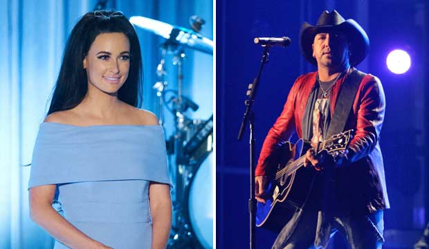 Kacey Musgraves and Jason Aldean