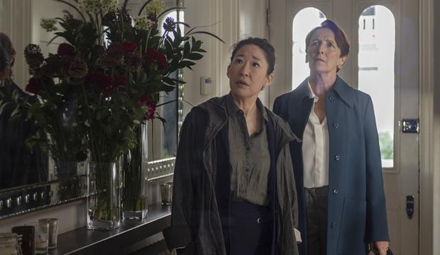 Sandra Oh and Fiona Shaw, Killing Eve