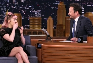 Maisie Williams and Jimmy Fallon, The Tonight Show Starring Jimmy Fallon