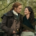 Sam Heughan and Caitriona Balfe, Outlander