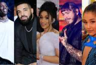 Travis Scott, Drake, Cardi B, Ariana Grande, Post Malone