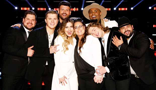 Is Us Just Too Big For Its Own Good >> The Voice Top 8 Performance Show Updating Live Blog On Monday
