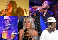 Billie Eilish, Ariana Grande, Anderson Paak, Lady Gaga and Tyler the Creator