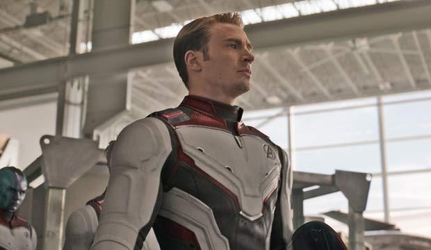 Chris Evans in Avengers Endgame