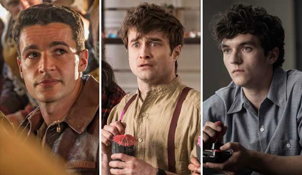 Christopher Abbott, Daniel Radcliffe and Fionn Whitehead