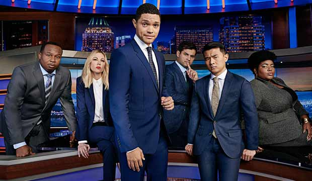 The Daily Show team