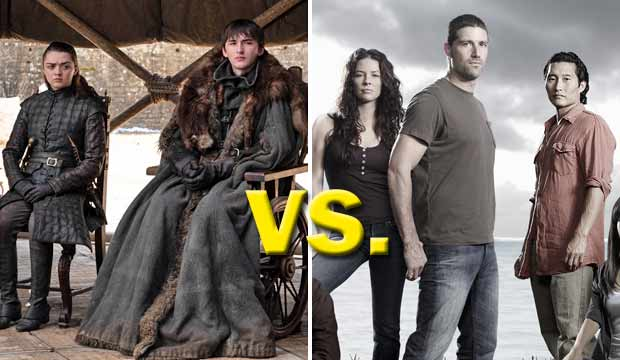Game of Thrones and Lost