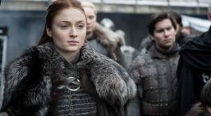 Sophie Turner on Game of Thrones