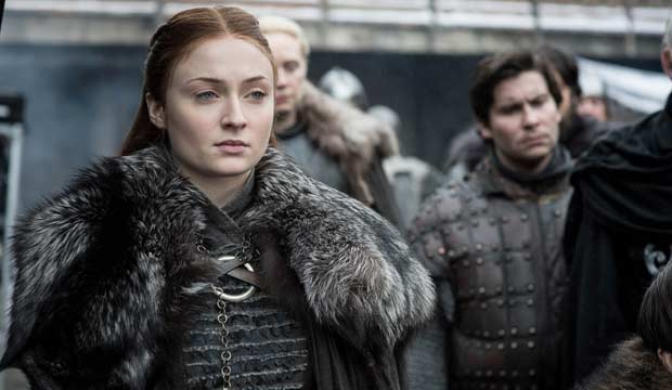 Emmy episode analysis: Sophie Turner ('Game of Thrones') is displeased with her brother's new girlfriend in 'Winterfell'