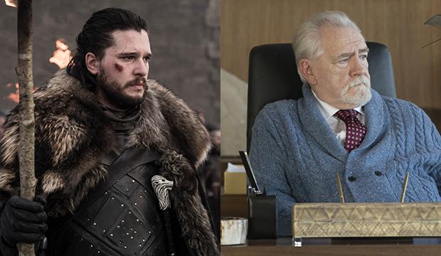 Kit Harington, Game of Thrones; Brian Cox, Succession