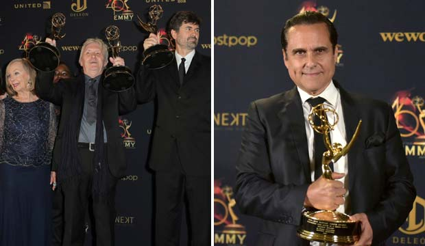 Maurice Benard and The Young and the Restless win at the Daytime Emmys 2019