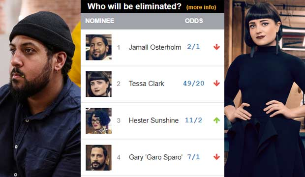 Who will be eliminated next on 'Project Runway'? Our odds say Jamall or Tessa will be ousted in 6th place