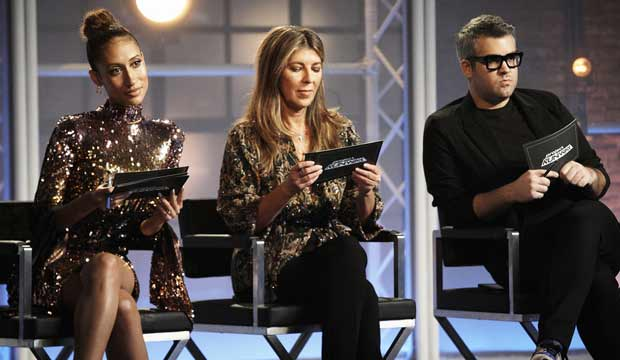 Project Runway judges in The Stitch is Back