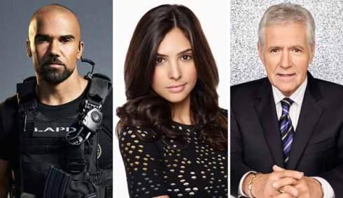Shemar Moore, Camila Banus, Alex Trebek